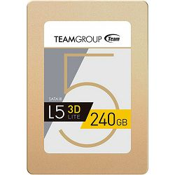 Teamgroup SSD 240GB L5 Lite 3D, SATA, T253TD240G3C101