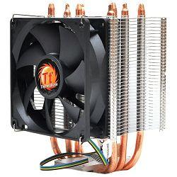 Thermaltake Contac 21, 775,AM2,AM2+,AM3,AM3+,FM1,1155,1156, 4-pin, Aluminum Fins + Aluminum Base, 1