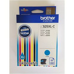 Tinta Brother LC-525XL Cyan