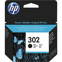 Tinta HP F6U66AE no. 302 Black