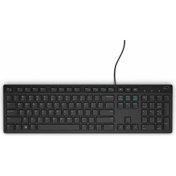 Tipkovnica DELL KB216 USB 2.0, Black, Retail, HR layout