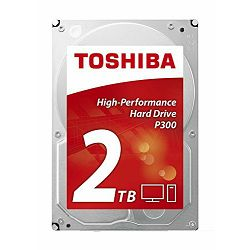 HDD 2TB Toshiba P300 High-Performance, 3.5