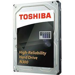 "Toshiba 6TB 3.5"" 7200rpm, 128MB, N300, HDWN160UZSVA"