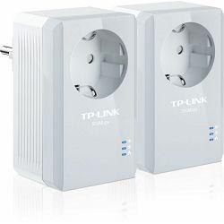 TP-Link PA4010P KIT, 1x 10/100Mbps Ethernet Port, Power Socket, Domet: 300 metara, Dimenzije 95 x 5