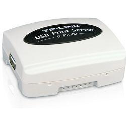 TP-Link TL-PS110U, USB 2.0 print server, USB 2.0 Port, Fast Ethernet RJ-45 Port,  TCP/IP,IPX/SPX,Ne