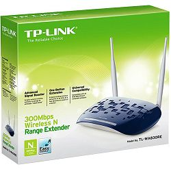 TP-Link TL-WA830RE, 300Mbps Wireless N Range Extender, Two MIMO antennas, Easily extend wireless co