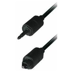 Transmedia optički kabel 3,5 mm plug - Toslink plug, 1,5 m, TRN-AL-3L