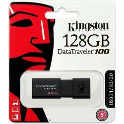 USB 128GB Kingston DataTraveler 100 G3, USB 3.0, DT100G3/128GB