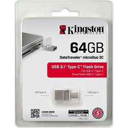 USB 64GB Kingston DT microDuo 3C