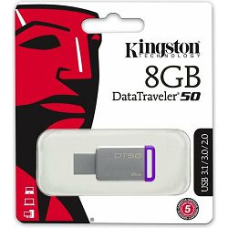USB 8GB Kingston DT50, USB-A 3.0, DT50/8GB