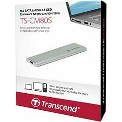 Transcend M.2 SATA 2280/2260 USB3.1, TS-CM80S