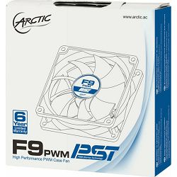 Ventilator Arctic F9 PWM PST, 92mm, 550-1800RPM