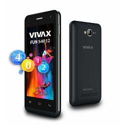 VIVAX SMART Fun S4012 black, Podržane mreže GSM 1800,GSM 1900,GSM 850,GSM 900, Dimenzije (ŠxVxD) 12