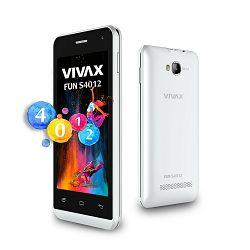 VIVAX SMART Fun S4012 white, Podržane mreže GSM 1800,GSM 1900,GSM 850,GSM 900, Dimenzije (ŠxVxD) 12