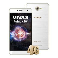 Vivax Smart Point X501, bijeli, dual SIM, 5
