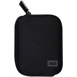 WD My Passport Neopren Case Black, dizajnirana za My Passport Essential, Essential SE i Elements