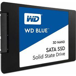 """WD SSD 1TB 2.5"""" SATA, blue, WDS100T2B0A"""