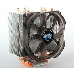 Zalman CNPS10X OPTIMA, CPU cooler. FAN: 120mm, fan speed: 1000rpm-1700rpm +/- 10%, 17.0dBA-28.0dBA.