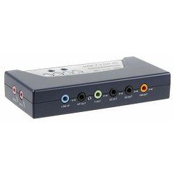 Zvučna kartica eksterna USB C-media , 8 kanalna, 16 bit