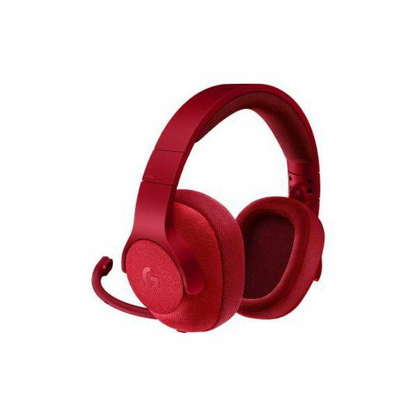 Logitech headset G433 Red 7.1, 981-000652