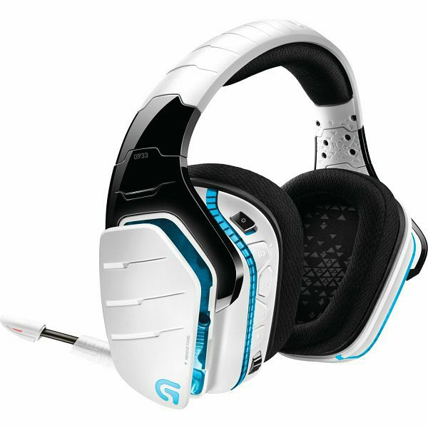 Logitech G933 7.1 Artemis Spectrum White