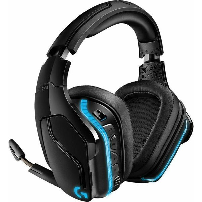 Logitech G935 7.1 Gaming Headset, Black
