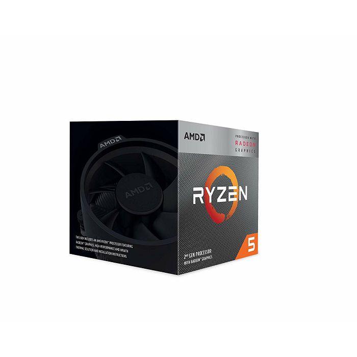 CPU AMD Ryzen 5 3400G BOX, s. AM4