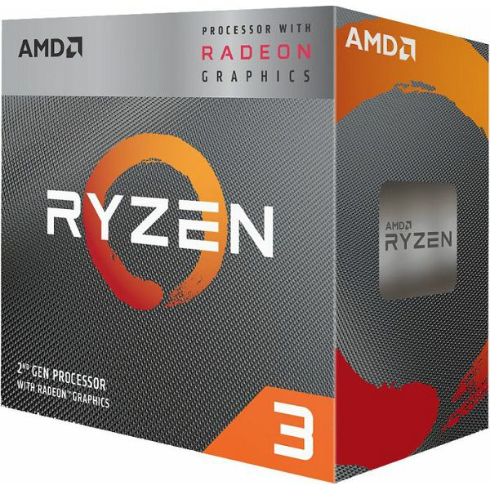 CPU AMD Ryzen 3 3200G BOX, s. AM4