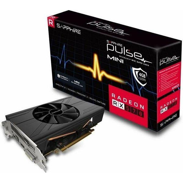 Sapphire RX570 Pulse ITX, 4GB DDR5, Lite retail, 11266-34-20G