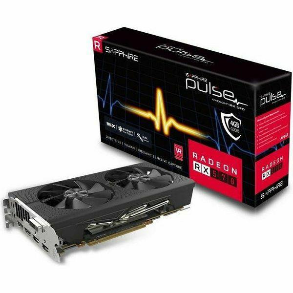 Sapphire RX570 Pulse OC, 4GB GDDR5, Lite, 11266-67-20G