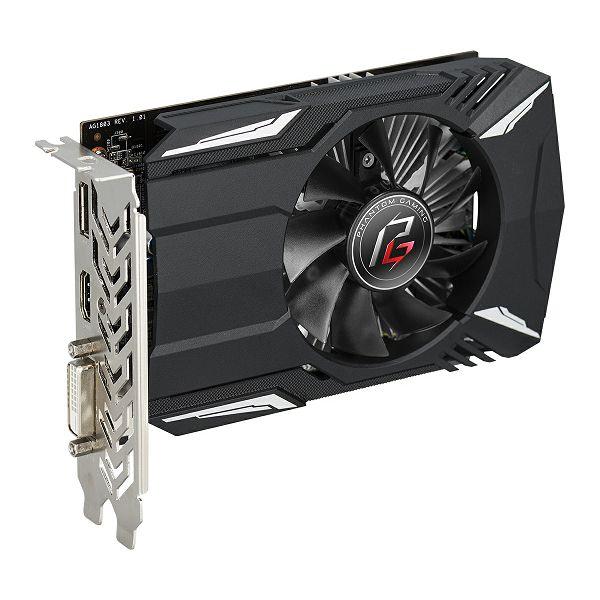Asrock RX560 4GB Phantom Gaming Radeon, 4GB GDDR5, 90-GA0600-00UANF