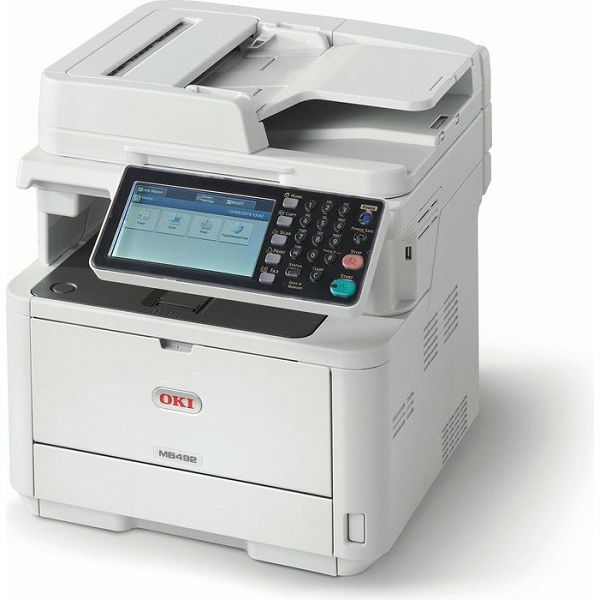 OKI MB492dn prnt/scan/copy/fax
