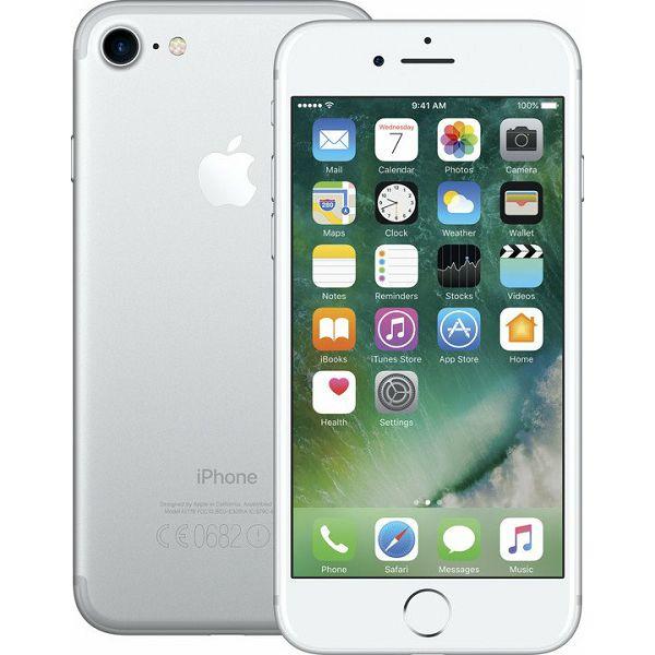 Apple iPhone 7,128GB, Silver (mn932cn/a)