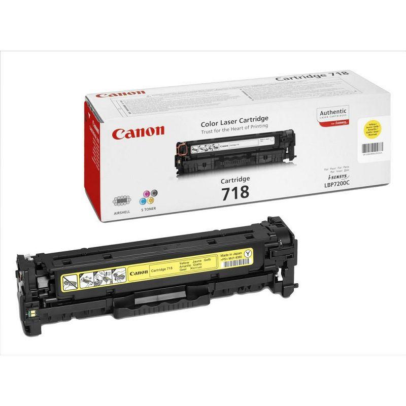 Canon toner CRG-718Y, žuti