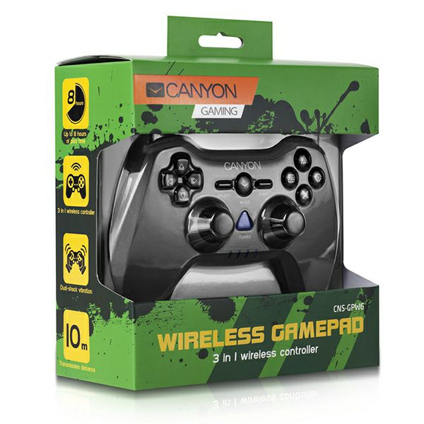 Canyon controller Wireless CNS-GPW6, PC, PS2, PS3