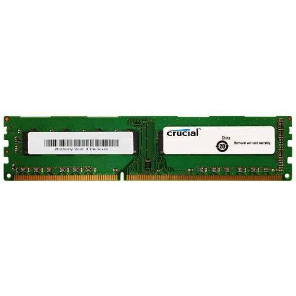 DDR3 4GB (1x4) Crucial 1600MHz, CT51264BD160B, CT51264BD160BJ
