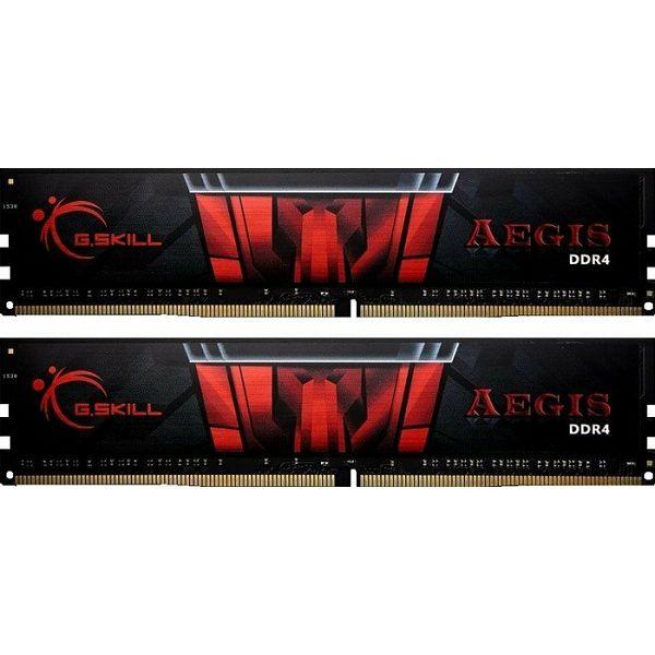 DDR4 16GB (2x8GB) PC4-24000U 3000MHz CL16 G.Skill Aegis, F4-3000C16D-16GISB