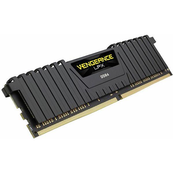 DDR4 16GB (2x8) Corsair 3200MHz LPX Black, CMK16GX4M2B3200C16