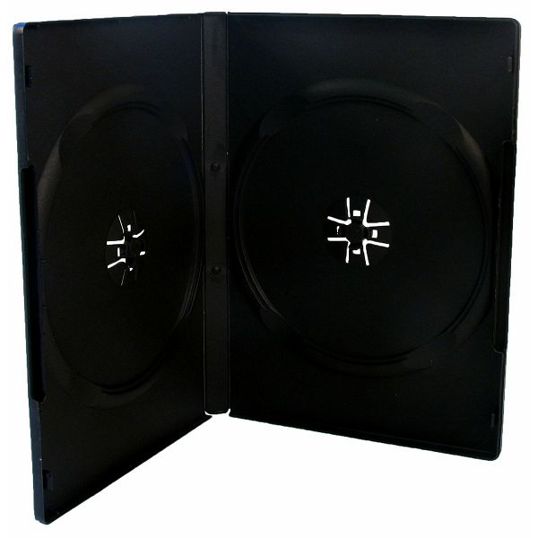 DVD box 2kom crn