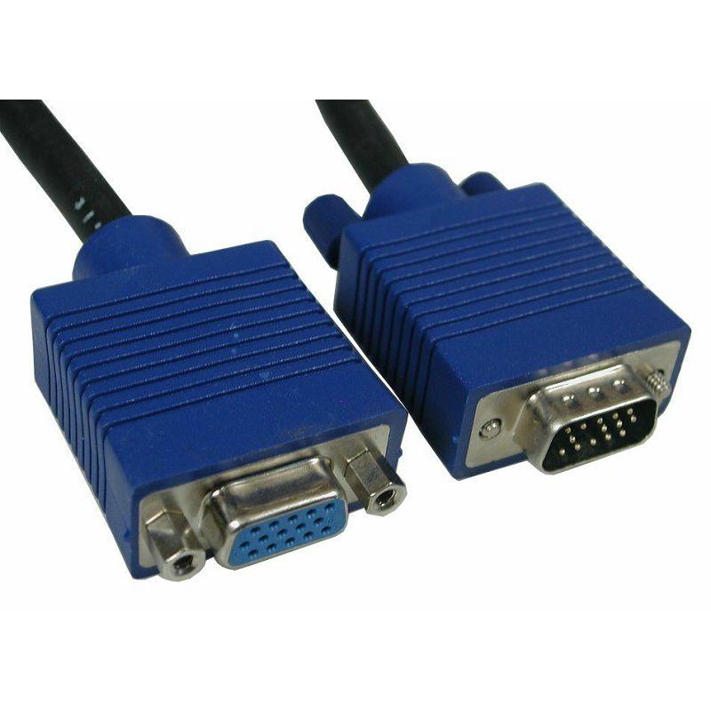 Kabel VGA M/F produžni monitor 5m
