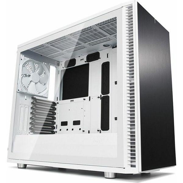 Fractal Define S2 TG White,  + gratis Ventilator Prisma AL-12 RGB PWM