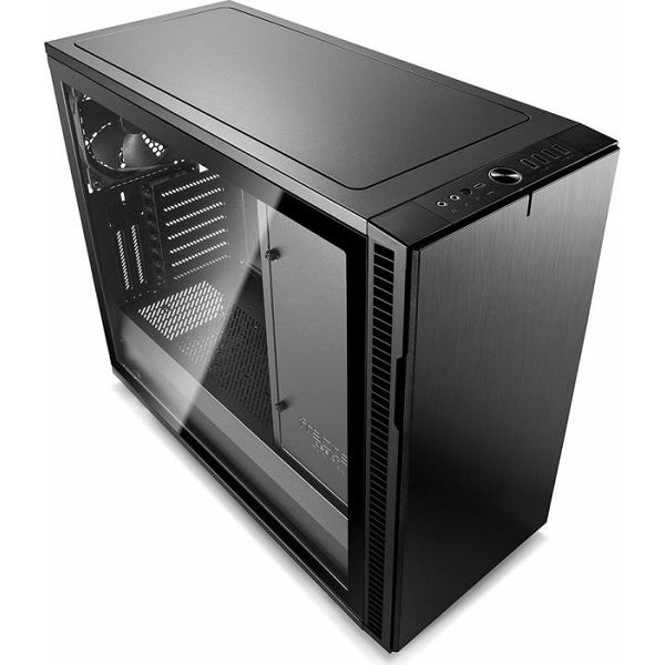 Kućište Fractal Design Define R6 USB-C, Blackout TG, crno sa staklom, Tip C, FD-CA-DEF-R6C-BKO-TGL