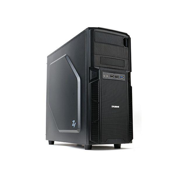 Zalman Z1 mid tower case. 199(W)x432(H)x457(D)mm. MB standard: Standard ATX / Micro ATX. PSU standa