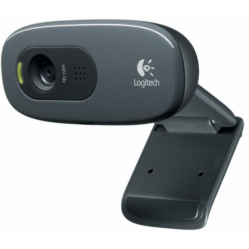 Logitech C270 HD, Tehnologija CMOS, Rezolucija videa 1280x720, rezolucija slike 1280x720, Sučelje U