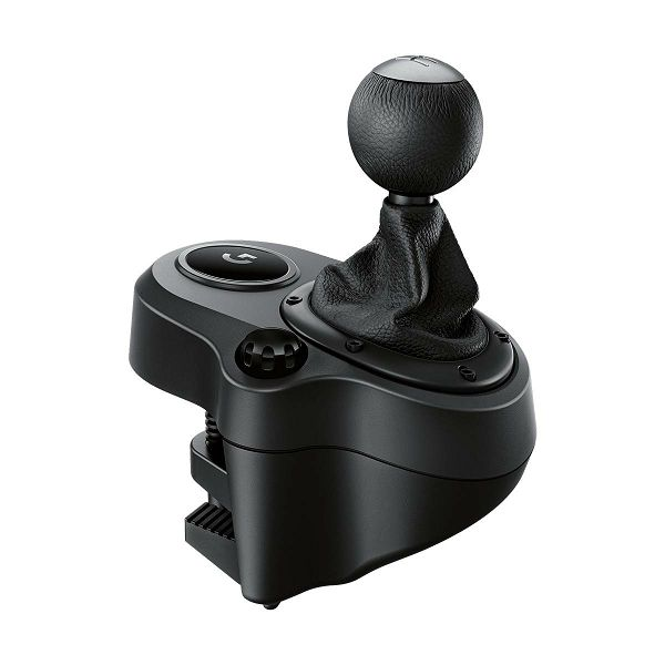 Logitech Driving force Shifter, kompatibilnost : G29, G920, Quality Construction, Six-Speed Shifter