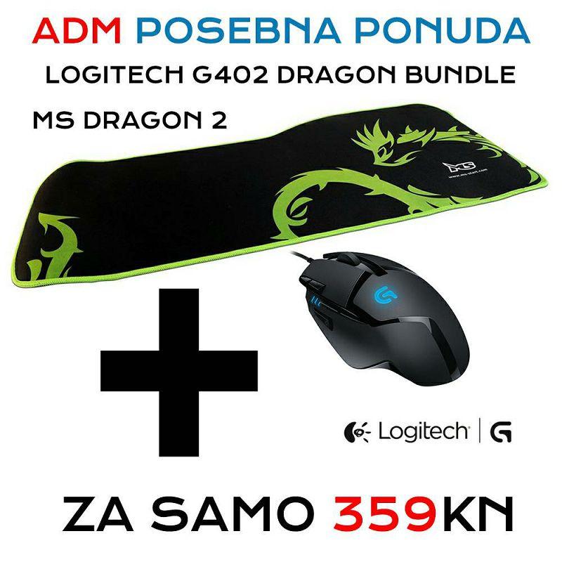 Logitech G402 Dragon bundle