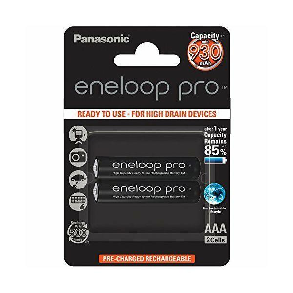 Panasonic bat AAA eneloop 2 XX/Pro