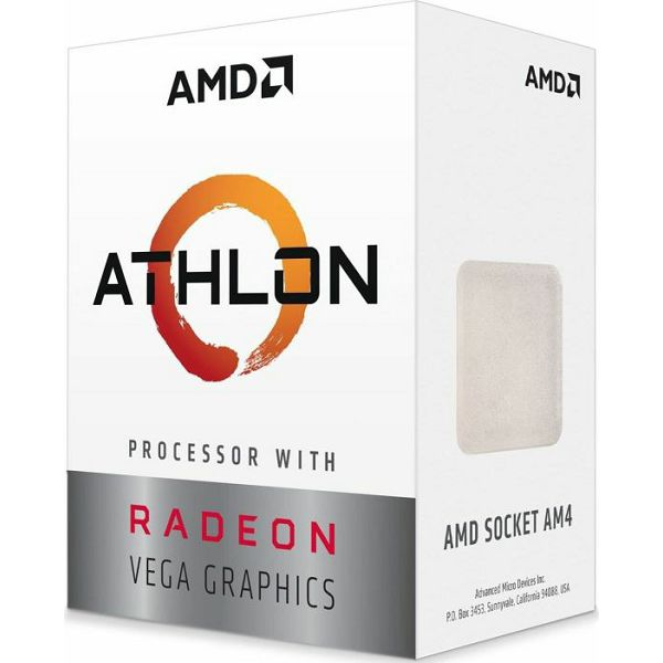 CPU AMD Athlon 200GE, AM4, 2x 3.20GHz, boxed, YD200GC6FBBOX