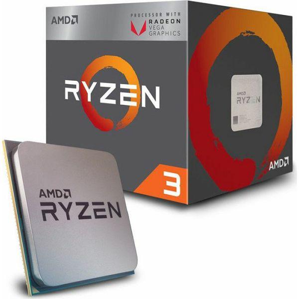 CPU AMD Ryzen 3 2200G BOX, s. AM4