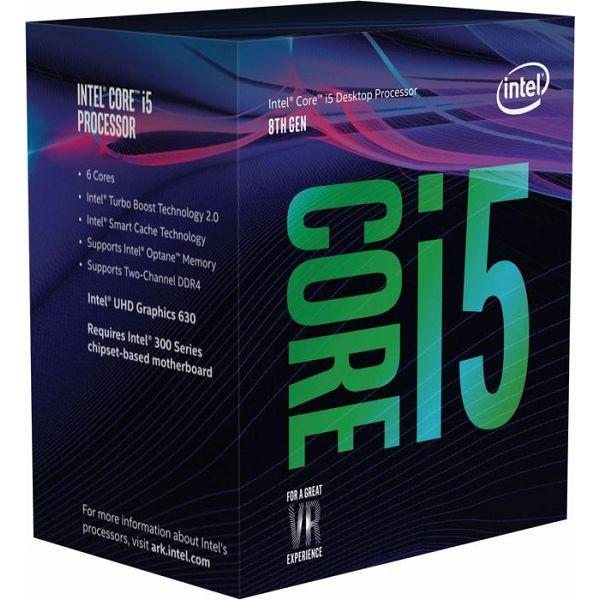 Procesor Intel Core i5-8400 (9MB Cache, 2.80GHz), s.1151, BX80684I58400